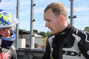 Dan Linfoot - Motorbike Track Training Day Coach - James Whitham
