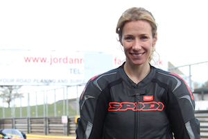 Jenny Tinmouth - Motorbike Track Training Day Coach - James Whitham