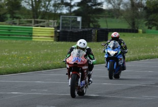 Riders on track at James Whitham track training day at Croft