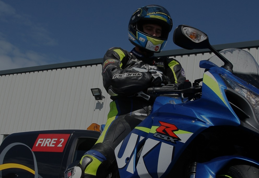 Davo Johnson - coach at James Whitham Motorcycle Track Training Days